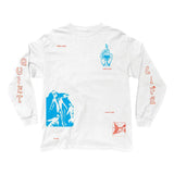 The Quiet Life - Times LS Tee (White)
