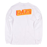 Civilist - 3D Block LS Tee (White)