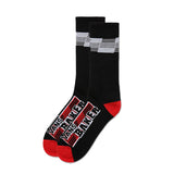 Vans - x Baker Crew Sock (Black/Red/White)