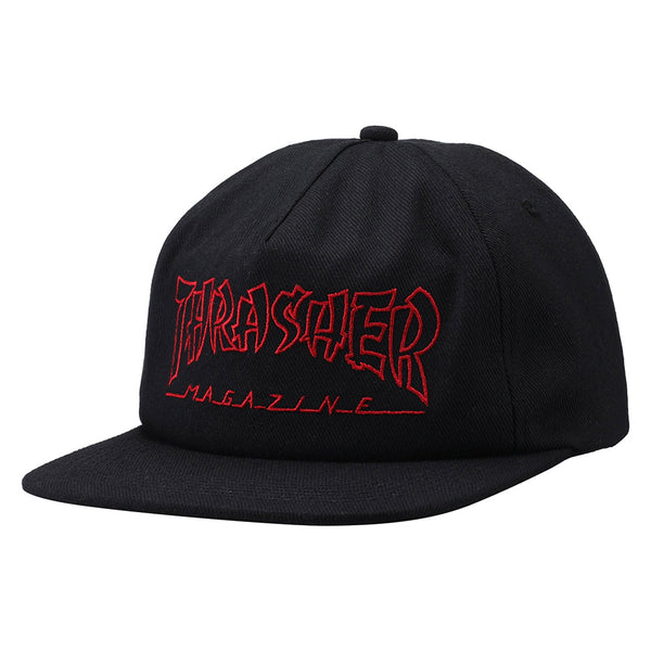 Thrasher - China Banks Snapback (Black)
