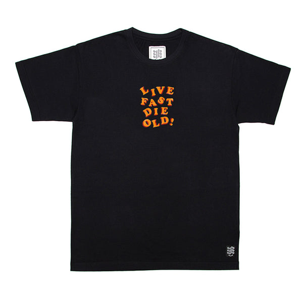 GOODGOODGOOD - x Faux Pas David Brent Tee (Black)