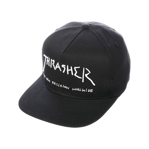 Thrasher - New Religion Snapback (Black)