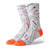 Stance - Oblow Poke Crew Sock (White)