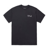 Polar Skate Co. - Stroke Logo Tee (Black/White)