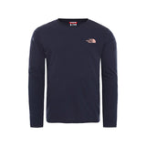 The North Face - Easy LS Tee (Aviator Navy/Pink Clay)