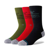 Stance - Corp 3 Of A Kind Crew Sock (Multi)