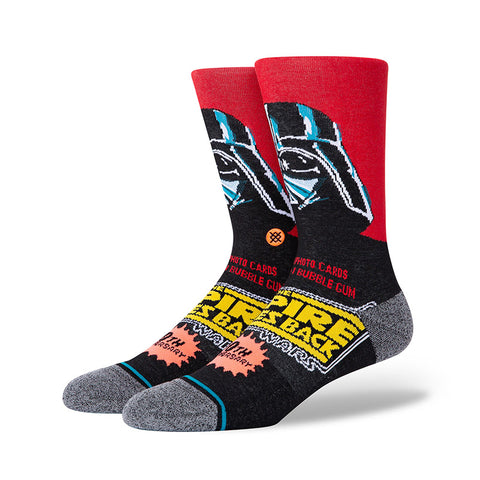 Stance - Vader 40th Anniversary Crew Sock (Red)