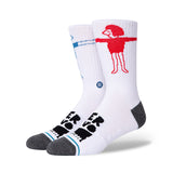 Stance - Lover Crew Sock (White)
