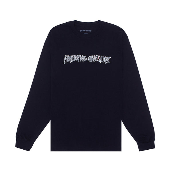Fucking Awesome - Actual Visual Guidance LS Tee (Black)