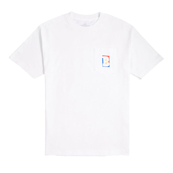 Baker - Capital B Pocket Tee (White)