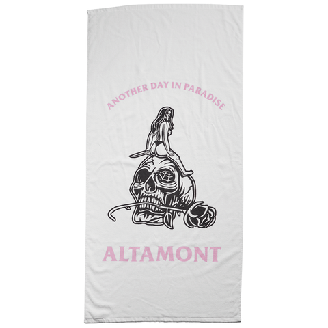 Altamont - Another Day Towel (White)