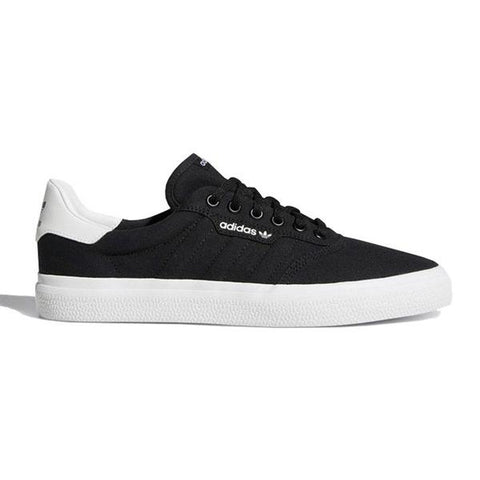 adidas - 3MC Vulc (Black/Black/White)
