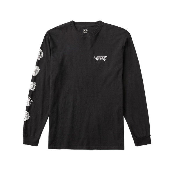 Vans - Rowan Zorilla Faces LS Tee (Black)