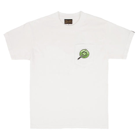 Benny Gold - Court Pocket Tee (White)