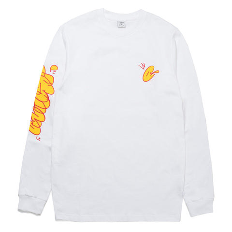 Civilist - Bubble LS Tee (White)