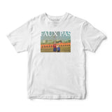 Faux Pas - Burn Tee (White)