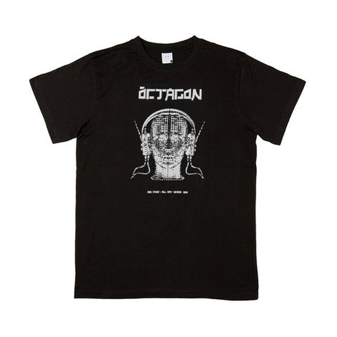 Octagon - Tune In Tee (Black)