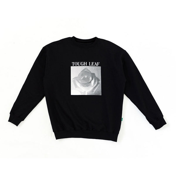 Leaf Apparel - x Tough Love Rose Crew (Black)