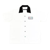 Leaf Apparel - x Tough Love Bowling Shirt (White/Black)