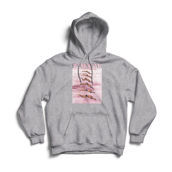 Faux Pas - Clouds Hood (Heather Grey)