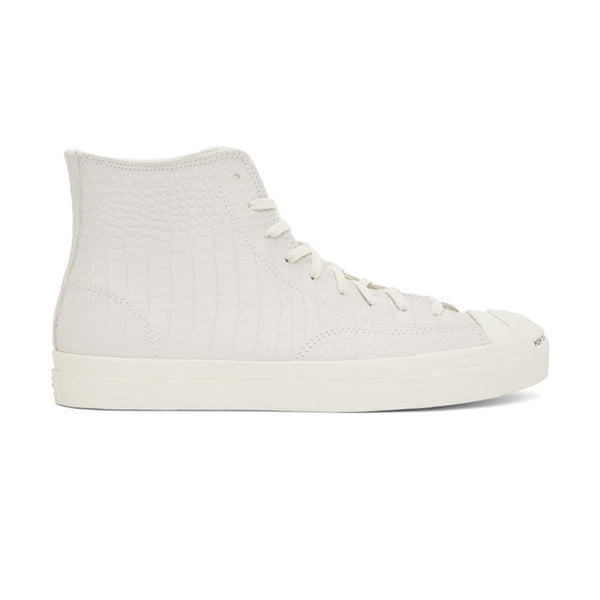 Converse CONS - x POP Trading Co. Jack Purcell Pro High QS (Egret/Black)