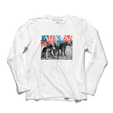 Faux Pas - Dogs LS Tee (White)