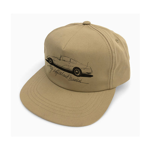 Krooked - Adjustable Effishant Snapback (Khaki)