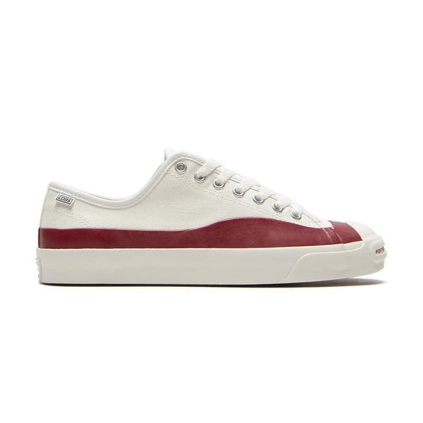 Converse CONS - x POP Trading Co. Jack Purcell Pro QS (Egret/Red Dahlia)