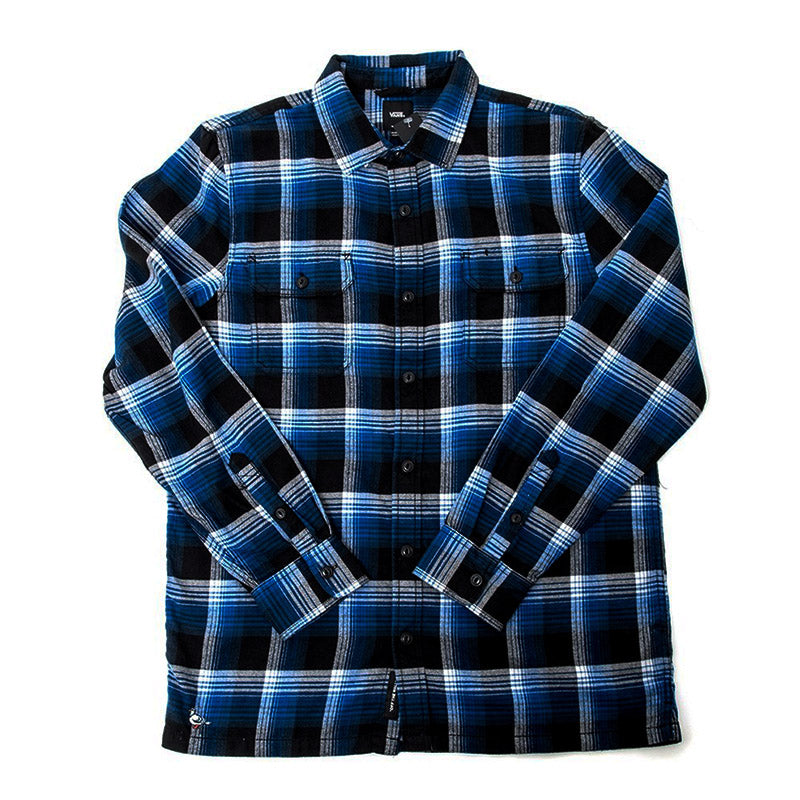 3fba51df12 Vans - x Anti Hero Wired Flannel Shirt (True Blue/Black)