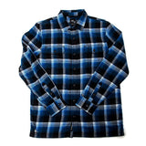 Vans - x Anti Hero Wired Flannel Shirt (True Blue/Black)
