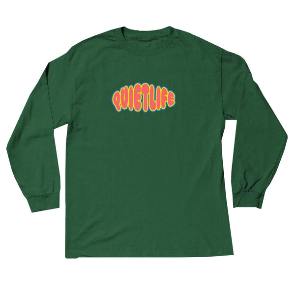 The Quiet Life - Bubble LS Tee (Hunter Green)
