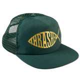 Thrasher - Fish Mesh Snapback (Green)