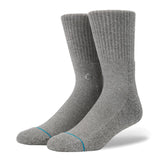Stance - Icon Classic Crew Sock (Grey Heather)
