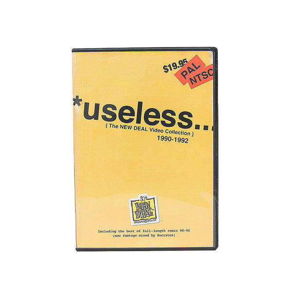 New Deal - *useless... The New Deal Video Collection DVD