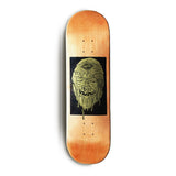 Face Ooze - Gold Drip Wall Board (Orange)
