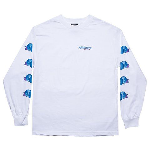 Alltimers - Peachy LS Tee (White)
