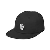 The Quiet Life - Shhh Felt Polo Hat (Black)