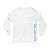 The Quiet Life - Serif LS Tee (White)