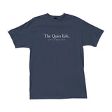 The Quiet Life - Serif Tee (Navy)