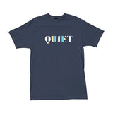 The Quiet Life - Stencil Tee (Navy)