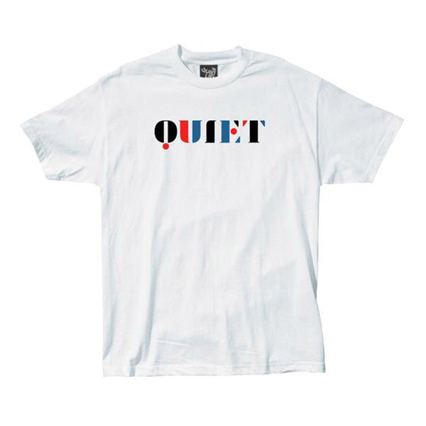 The Quiet Life - Stencil Tee (White)