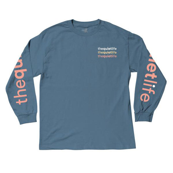 The Quiet Life - Origin Repeat LS Tee (Slate)