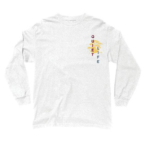 The Quiet Life - Tone LS Tee (White)
