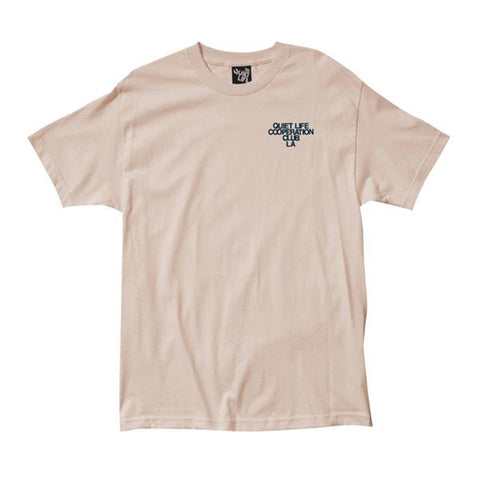 The Quiet Life - Cooperation Club Tee (Sand)