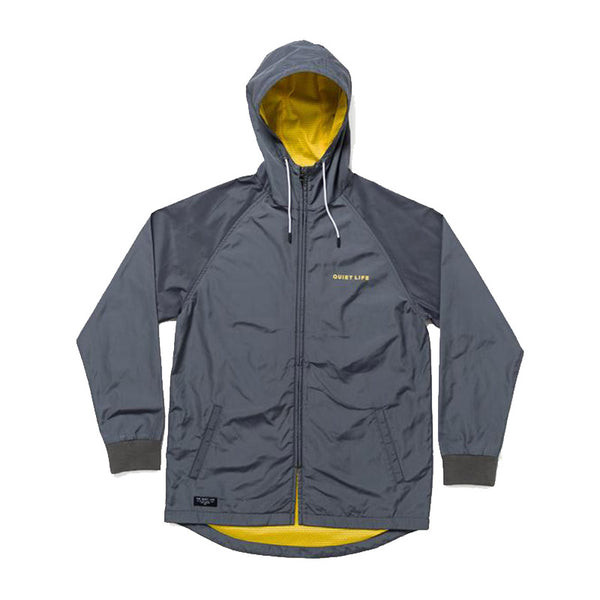 The Quiet Life - Hooded Monsoon Jacket (Charcoal)
