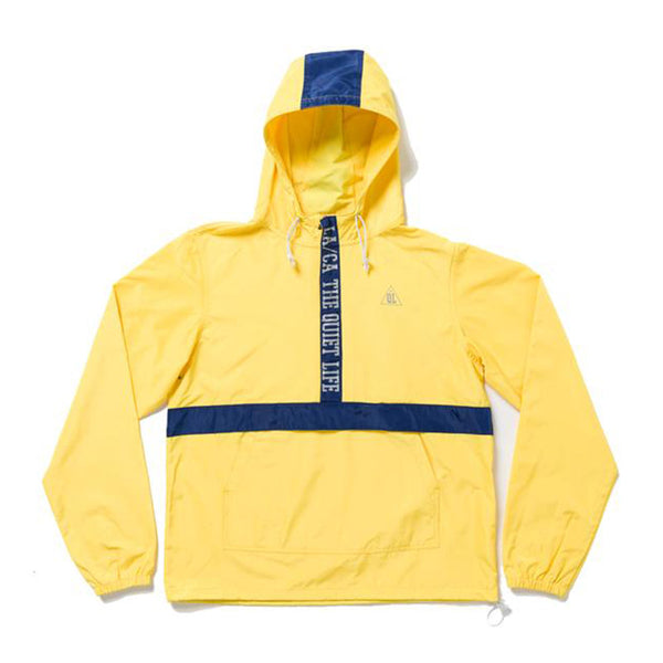 The Quiet Life - City Limits Pullover (Yellow/Navy)