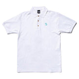 The Quiet Life - Shhh Polo Shirt (White)