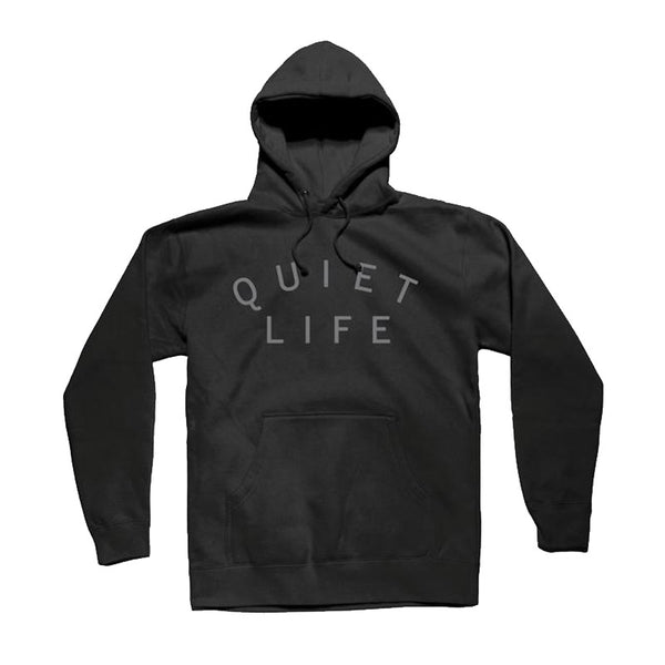 The Quiet Life - Standard Pigment Dyed Hood (Black)