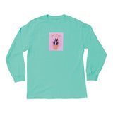 The Quiet Life - Yawn LS Tee (Mint)