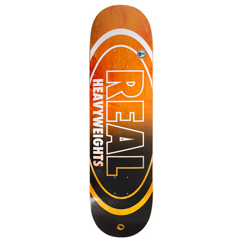 Real - Heavyweight Oval Deck (Orange)